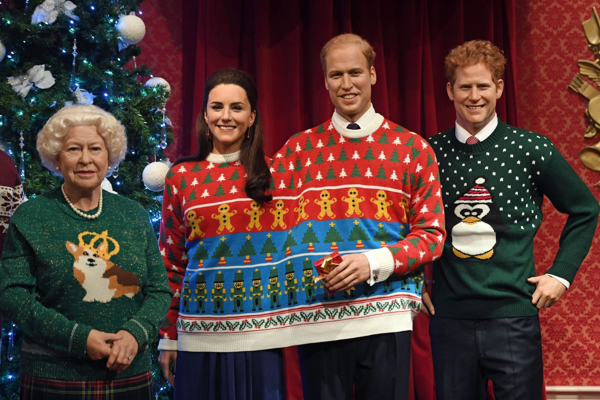 royal family christmas sweaters