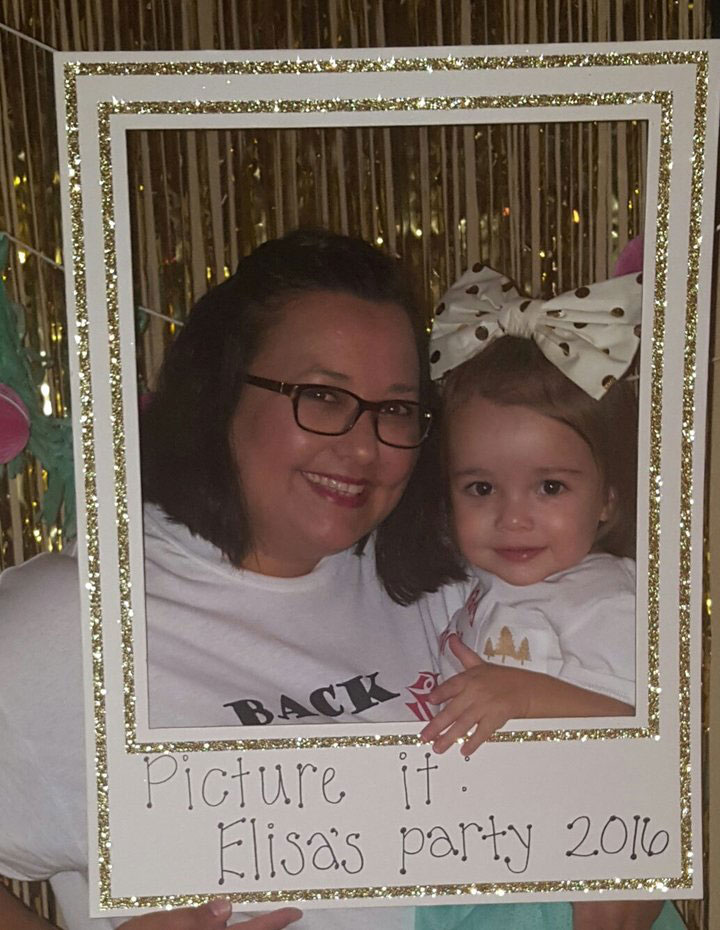 This Genius Toddler Had a Golden Girls Themed Birthday Party