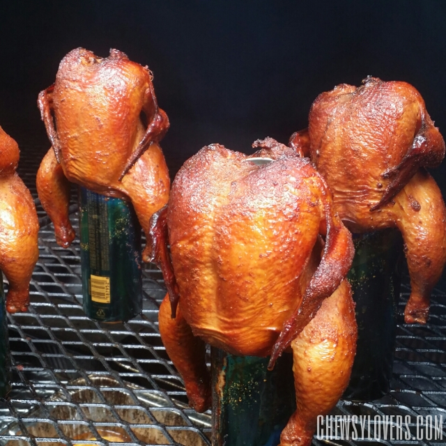 Orange-Ginger Chicken Marinade & Smoked Cornish Hen Recipe