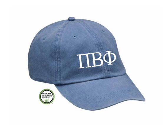 Custom Greek Embroidered Hat