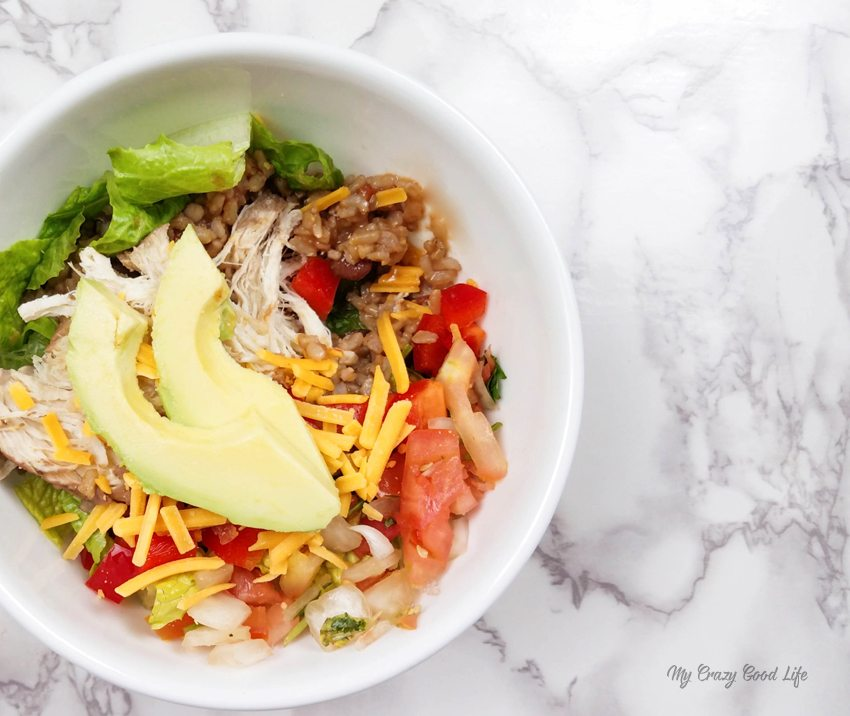 Instant Pot Burrito Bowl