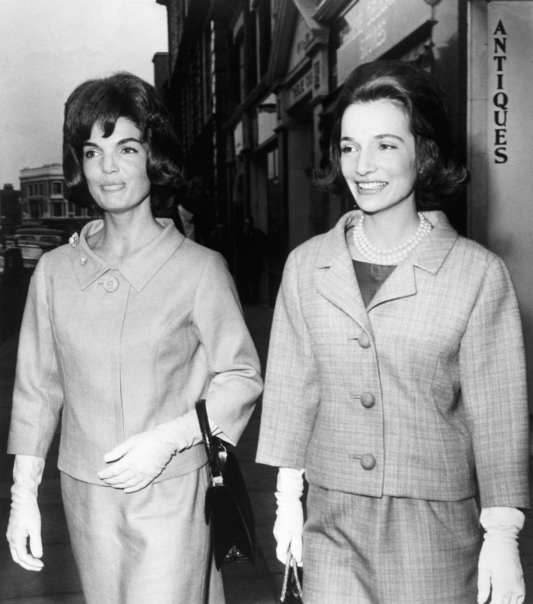 Jacqueline Kennedy and Lee Radziwill