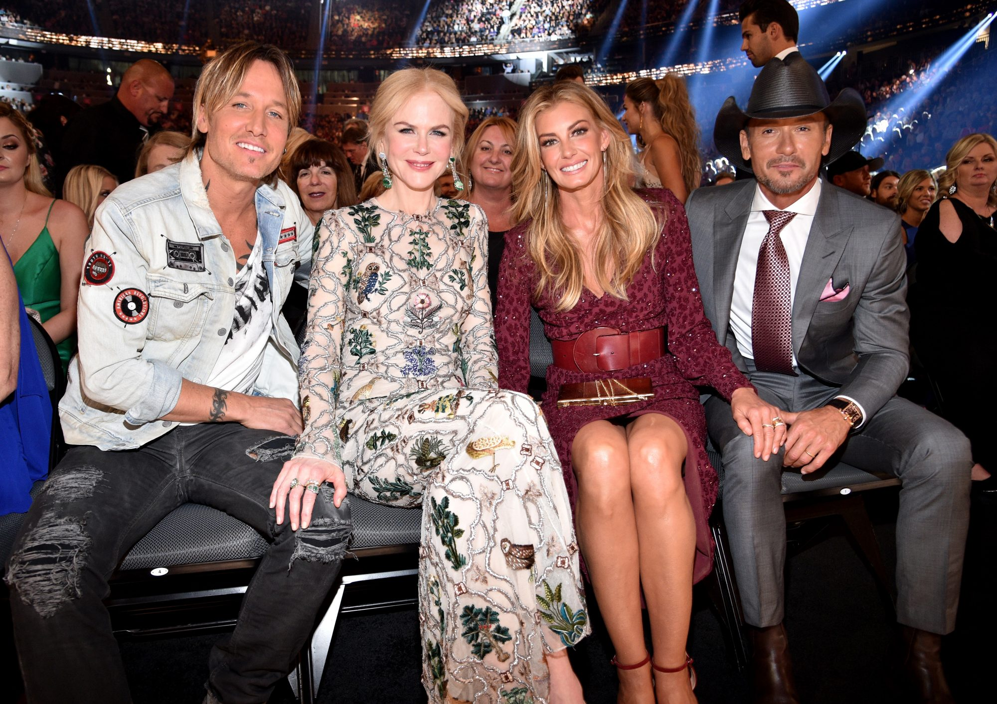 Faith hill tim mcgraw nicole kidman and keith urban are for How old are faith hill s daughters