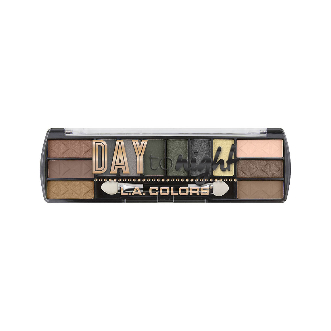 L.A. Colors Day To Night Eyeshadow, Sunrise