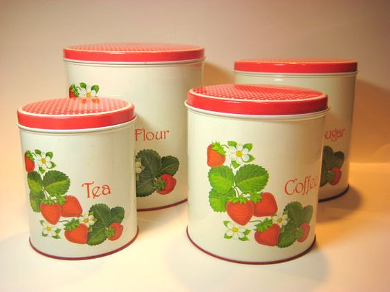 Labeled Tins