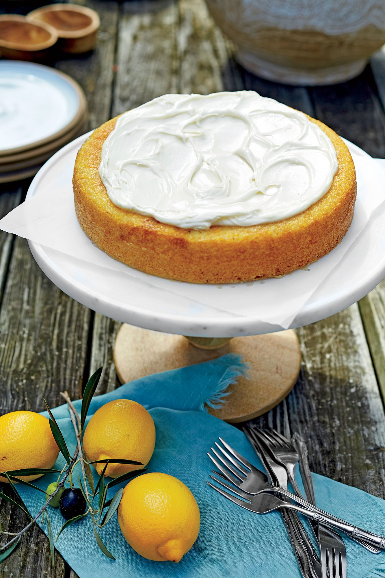 lemon olive oil cake lemon olive cake with mascarpone recipe 5484