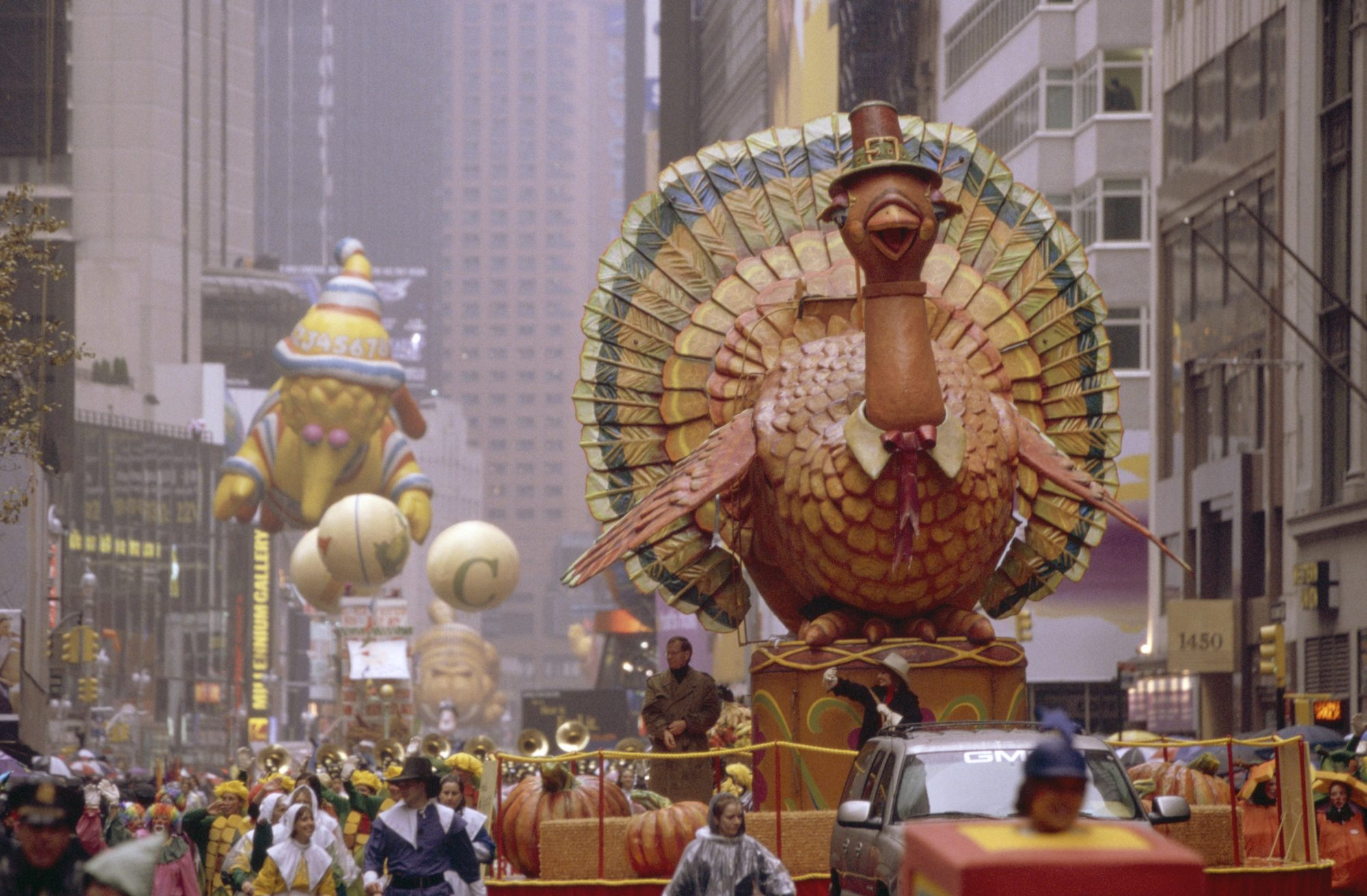Macy's Thanksgiving Day Parade Turkey Float