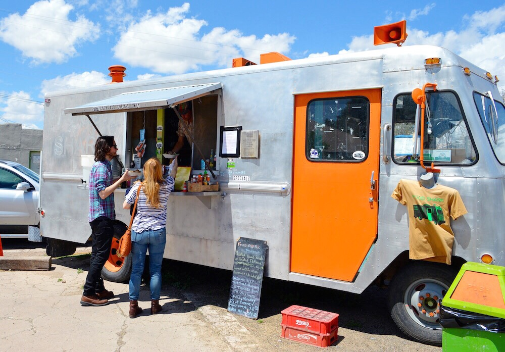 Marfa, TX Food Shark Food Truck