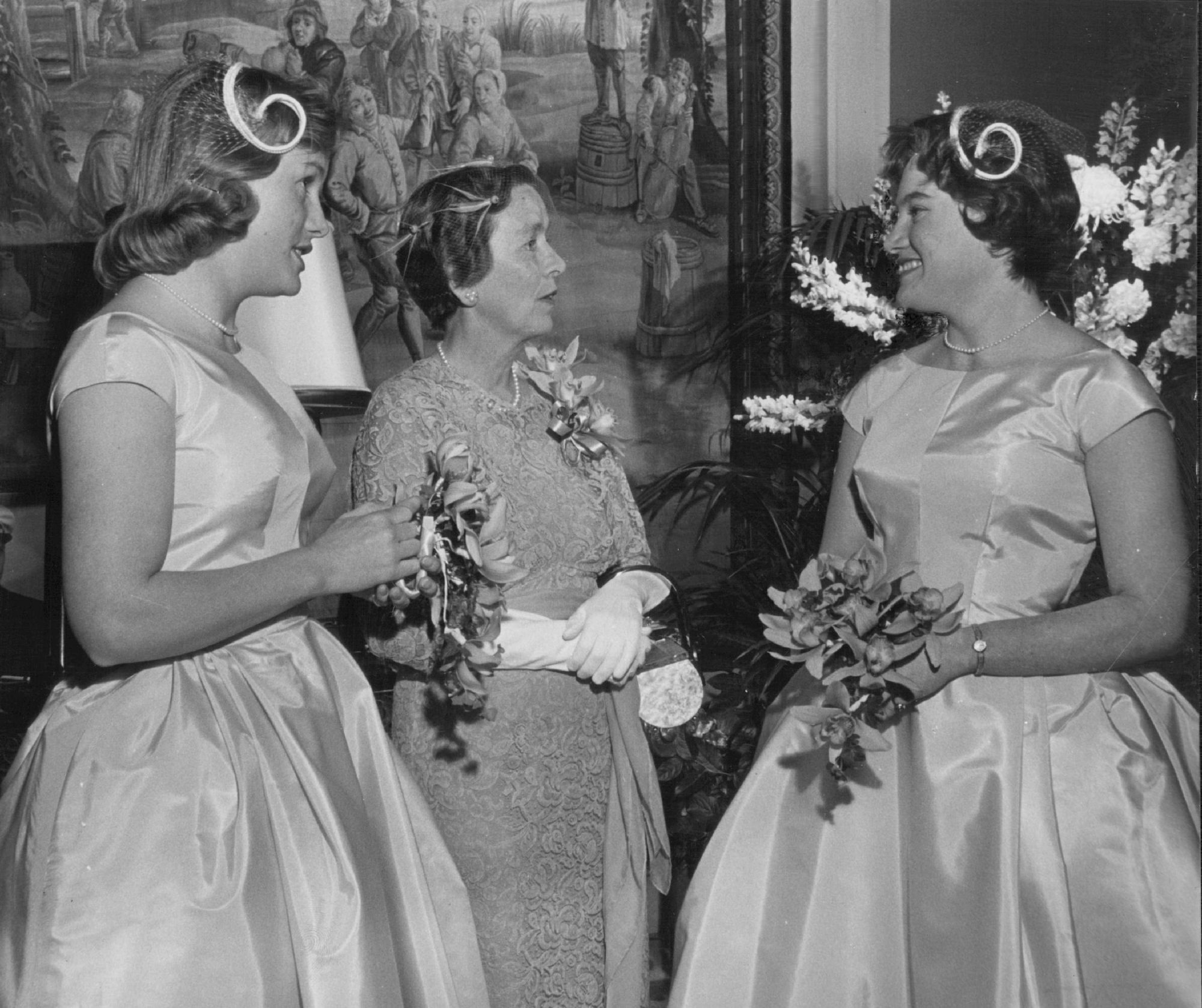 Mother of Groom with Bridesmaids