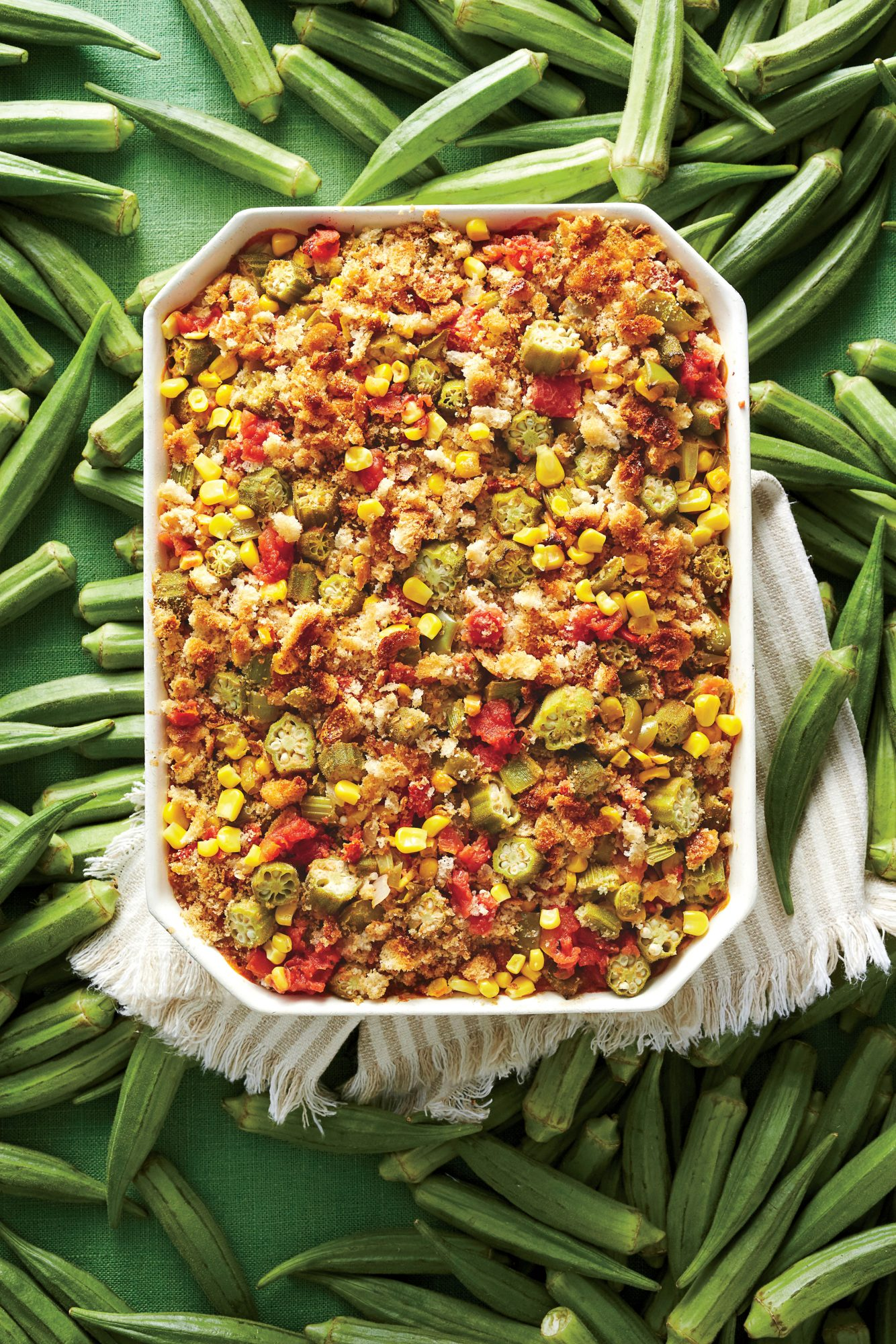Grilled Creole Chicken & Okra Recipe - Southern Living