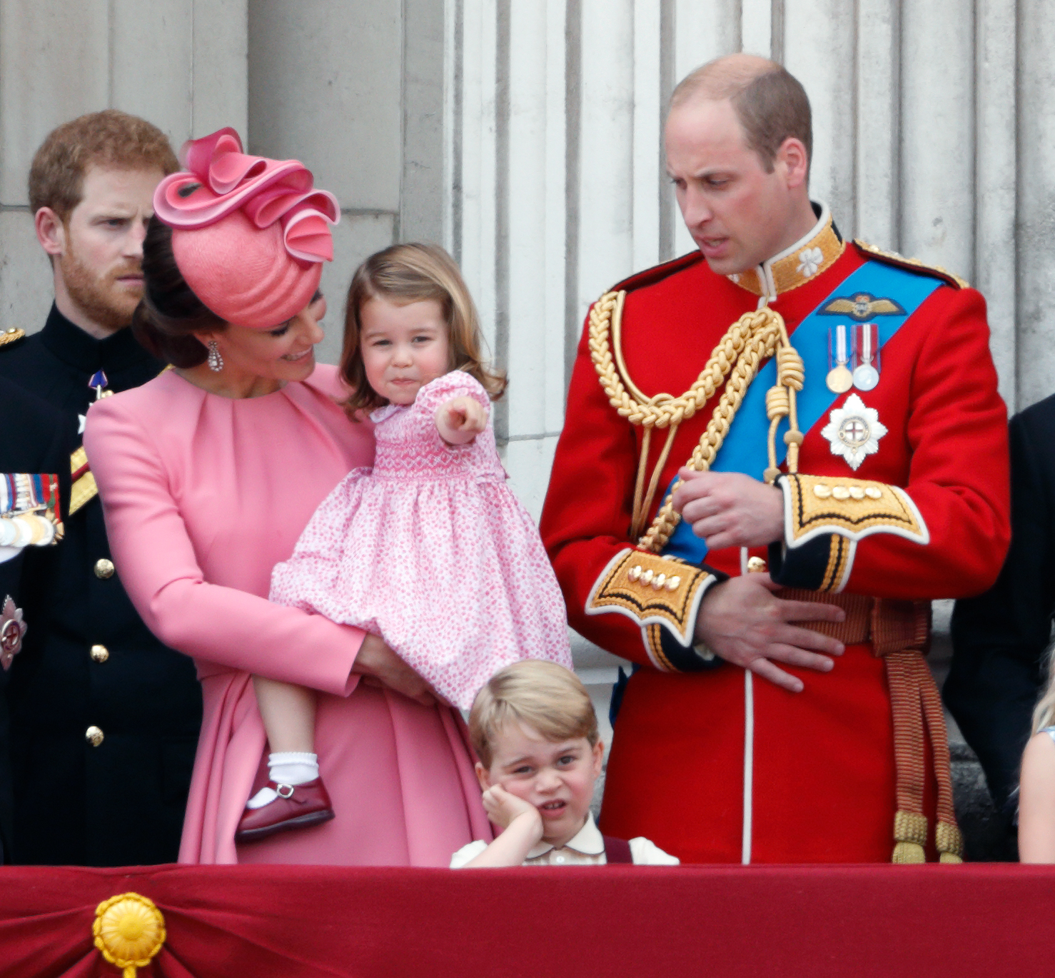 RX1707_ Our Prince Charming! 15 Adorable Photos of George Over It At The Trooping The Colour Parade