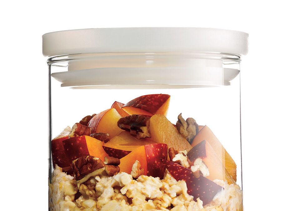 RX_1704 Make-Ahead Oatmeal_Overnight Oats with Stone Fruit