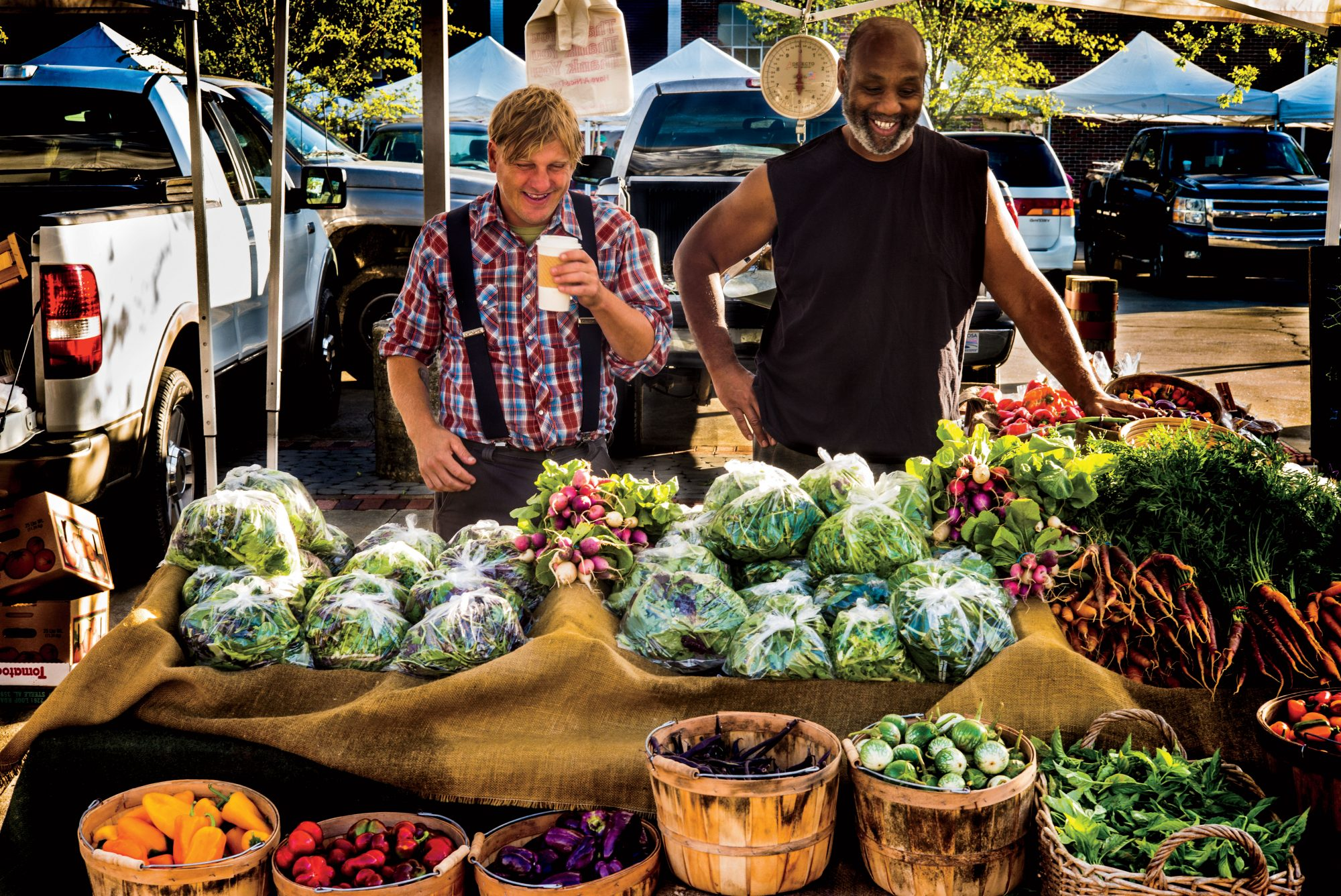 Pepper Place Farmers Market in Birmingham, Al