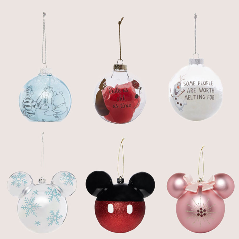 Take A Look At These Adorable Disney Inspired Christmas Ornaments
