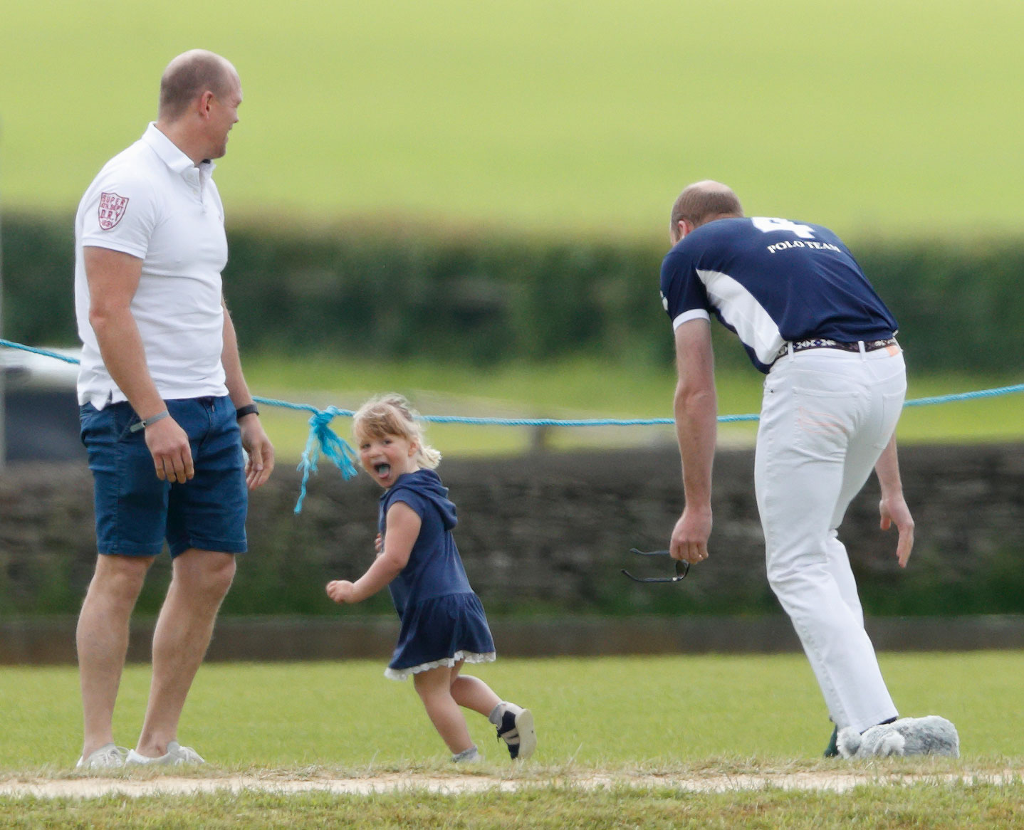 Prince William Chasing His Three-Year-Old Cousin is the Cutest Thing Mia Laughing