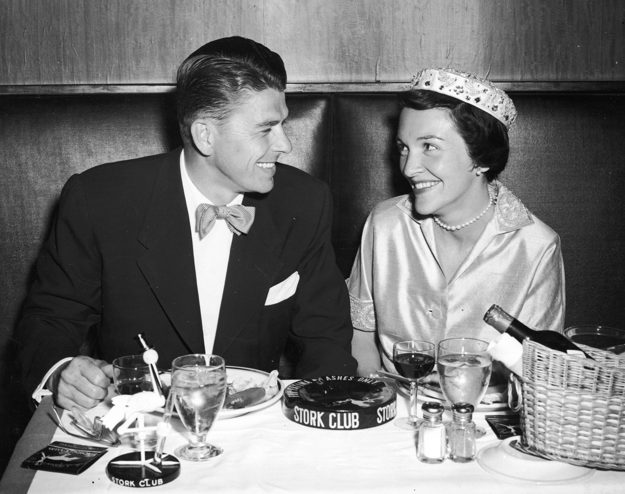Ronald and Nancy Reagan Honeymoon Dinner