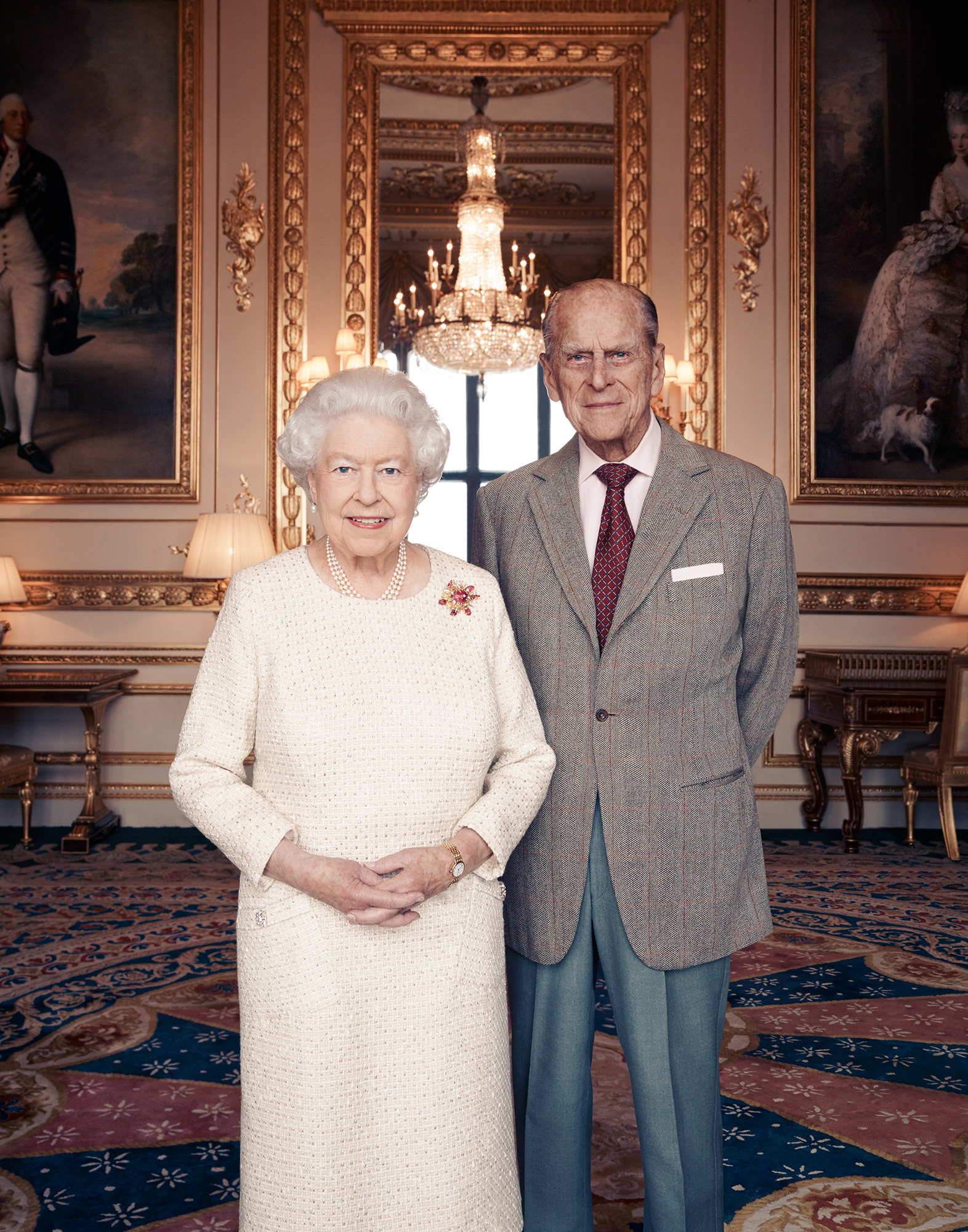The Look of Love! Queen Elizabeth and Prince Philip Share 70th Anniversary Photo