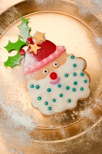 How To Make Santa Cookies Southern Living