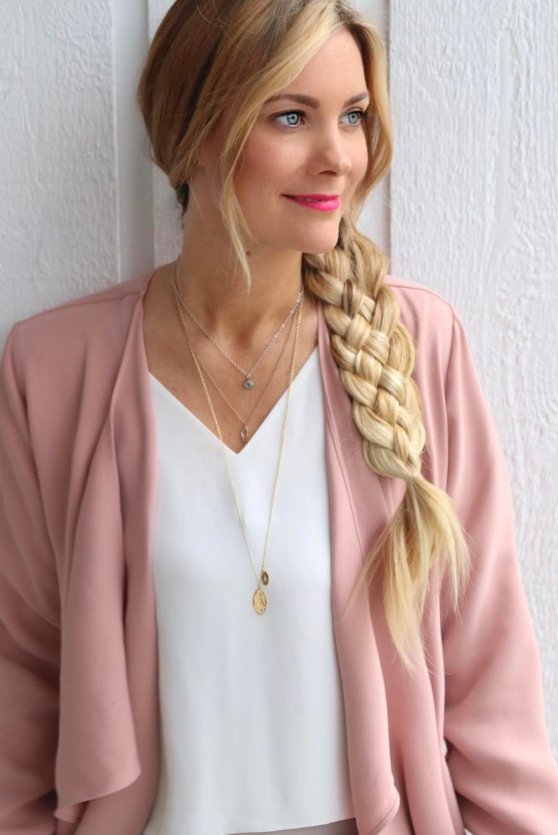 Heart: Five Strand Braid