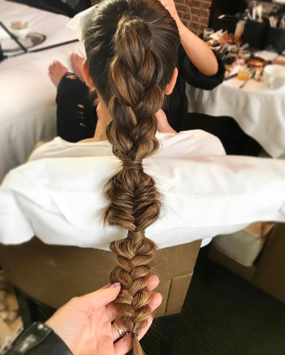 Goddess Pony Braid