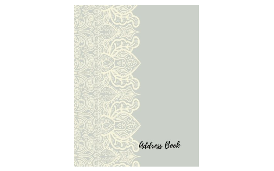 Lilac Lace Address Book