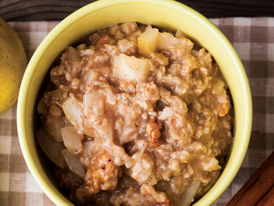 Slow-Cooker Oats with Brown Sugar
