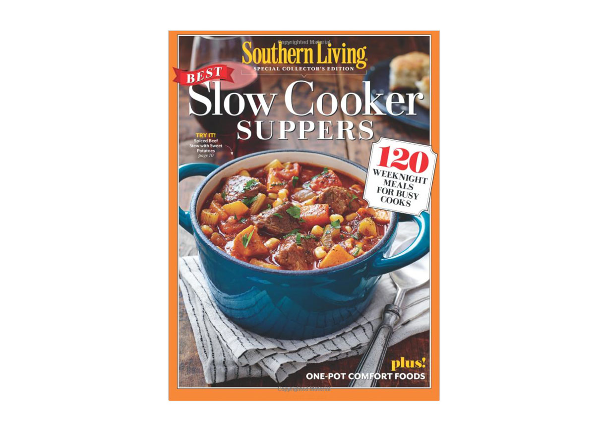 RX_1706 Slow Cooker Cookbooks_ Southern Living Slow Cooker Suppers