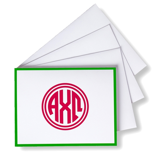 Sorority Monogram Stationery
