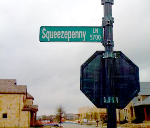 The most unusual and funny street names in the south southern living squeezepenny lane sciox Gallery