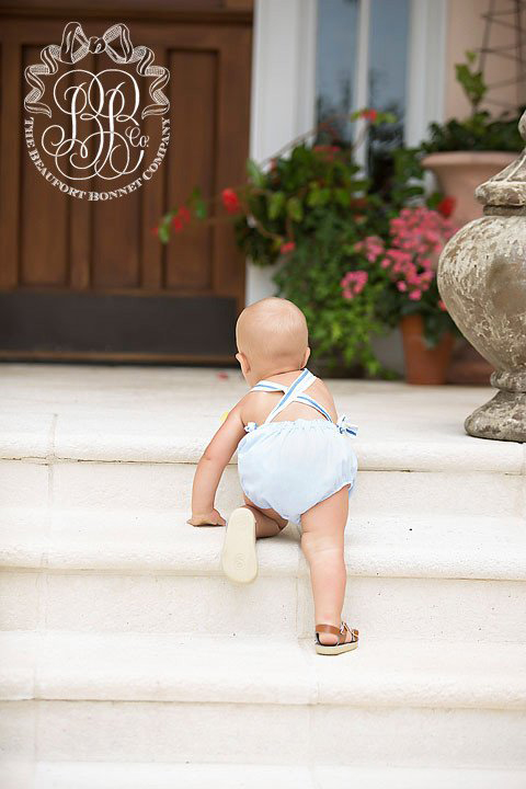 Sunsuits and Sandals Are the Uniform for Southern Baby Boys
