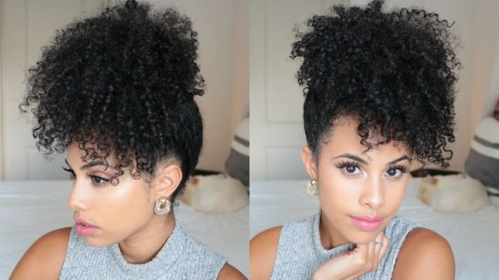 natural hair wash and go styles wash and go hairstyles southern living 1276 | the sophisticated pineapple