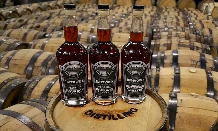 Timber Creek Distillery Bottles