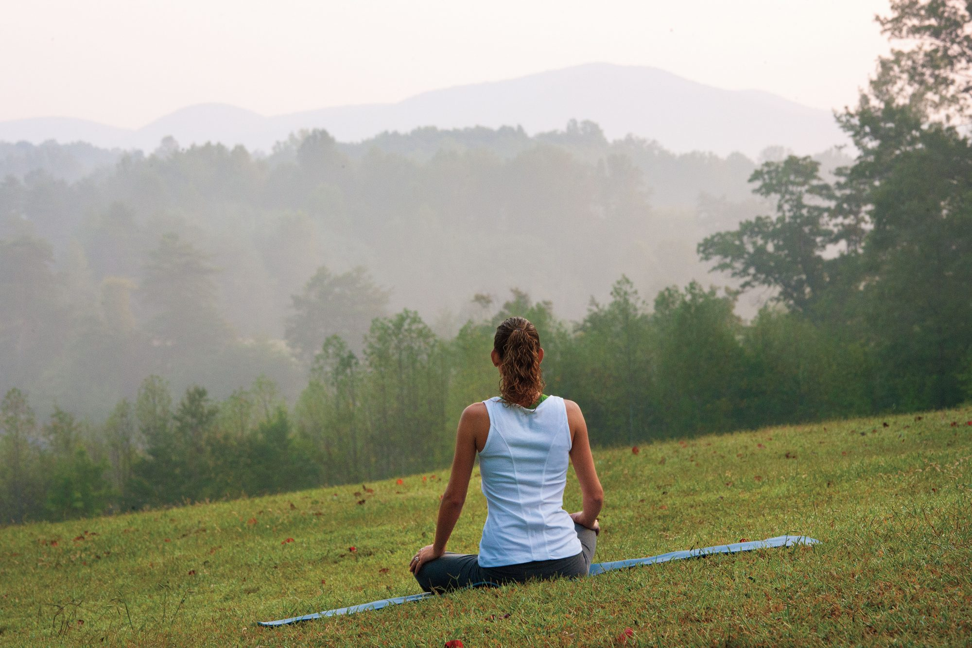 Woman at the Dahlonega Spa Resort