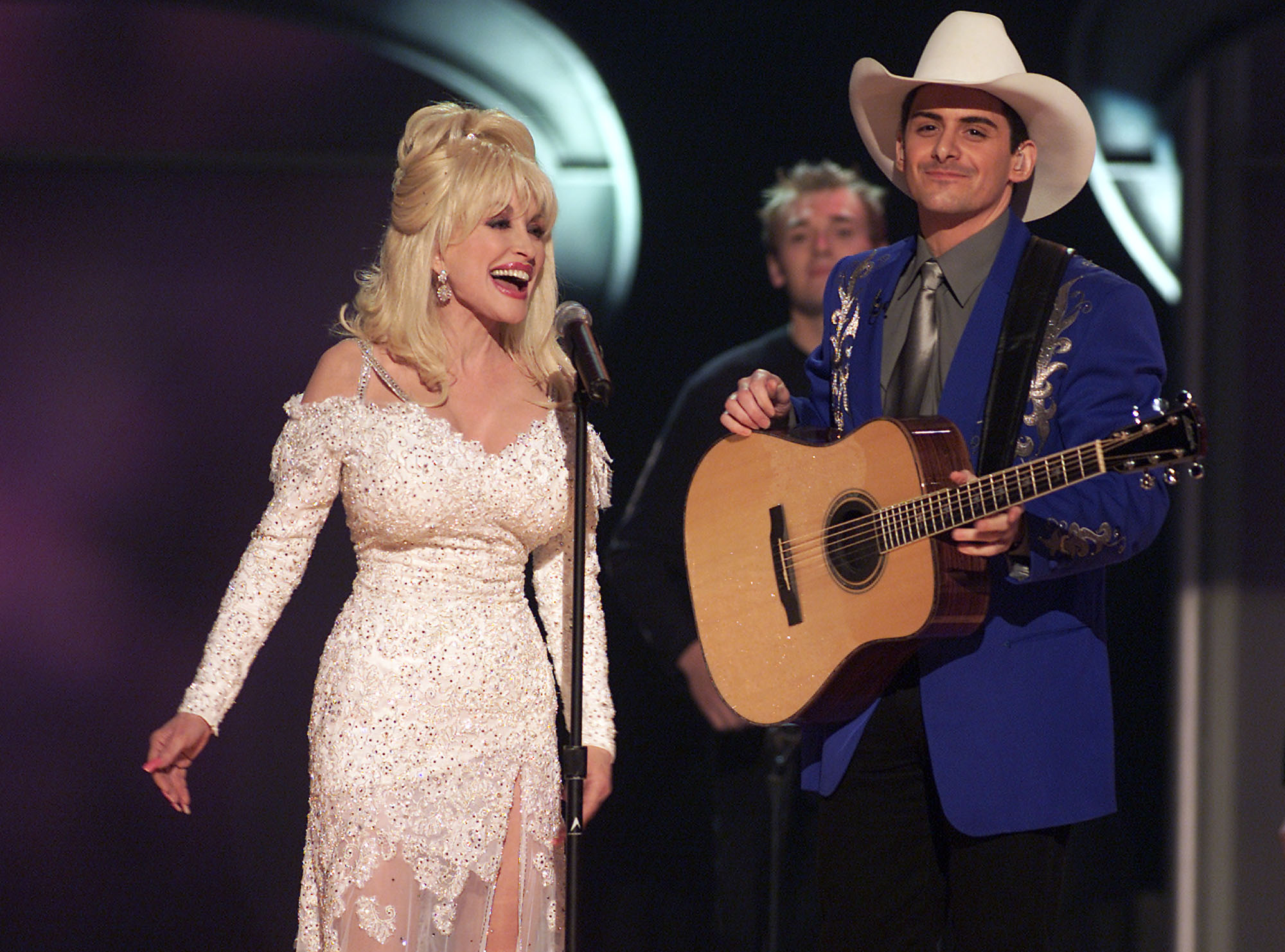 """When I Get Where I'm Going"" Brad Paisley and Dolly Parton, 2005"
