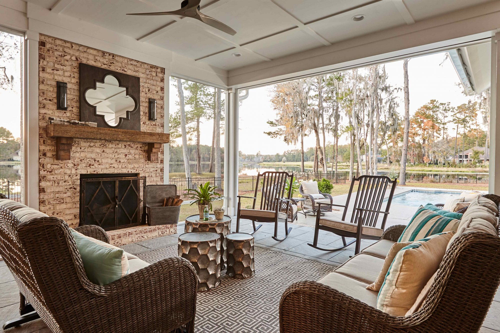 Wilson Design Valdosta Outdoor Living Area