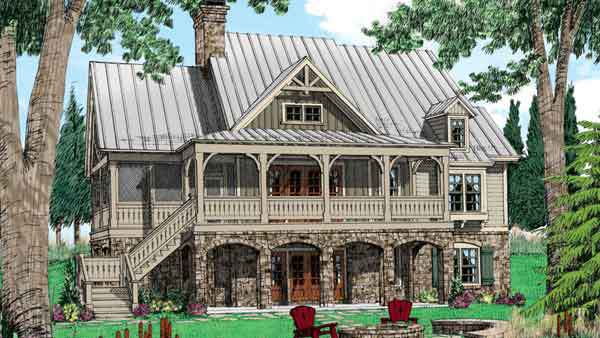 Our best mountain house plans for your vacation home for Wolf laurel