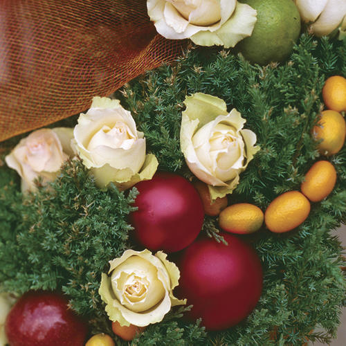 A Festive Look for Topiaries