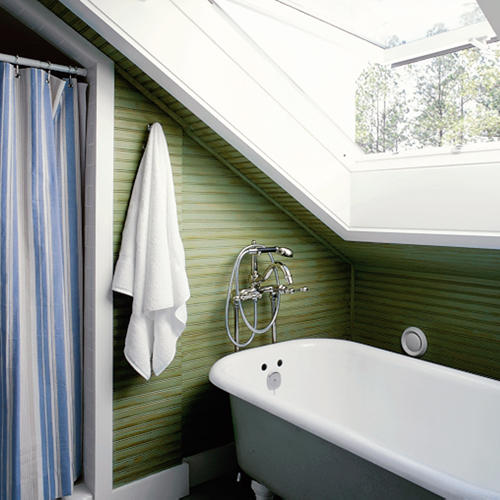 Compact Bath clever ideas in a compact bath - southern living