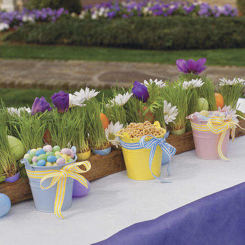 Kid-Friendly Easter Table Setting