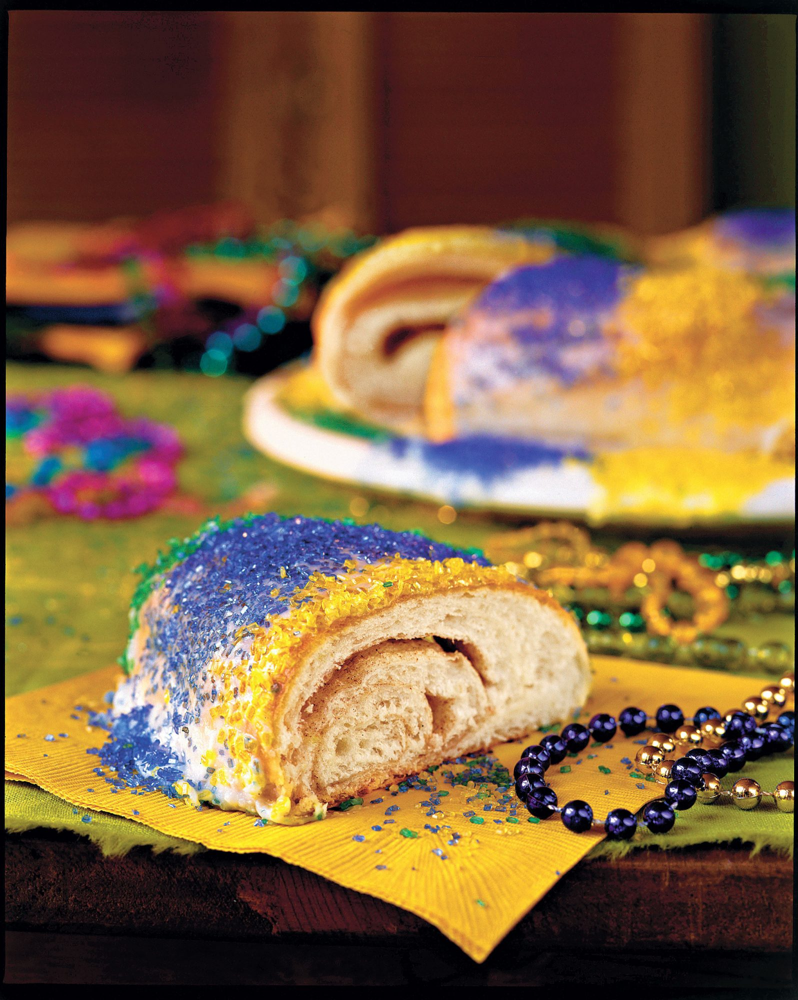 King cake recipe using hot roll mix