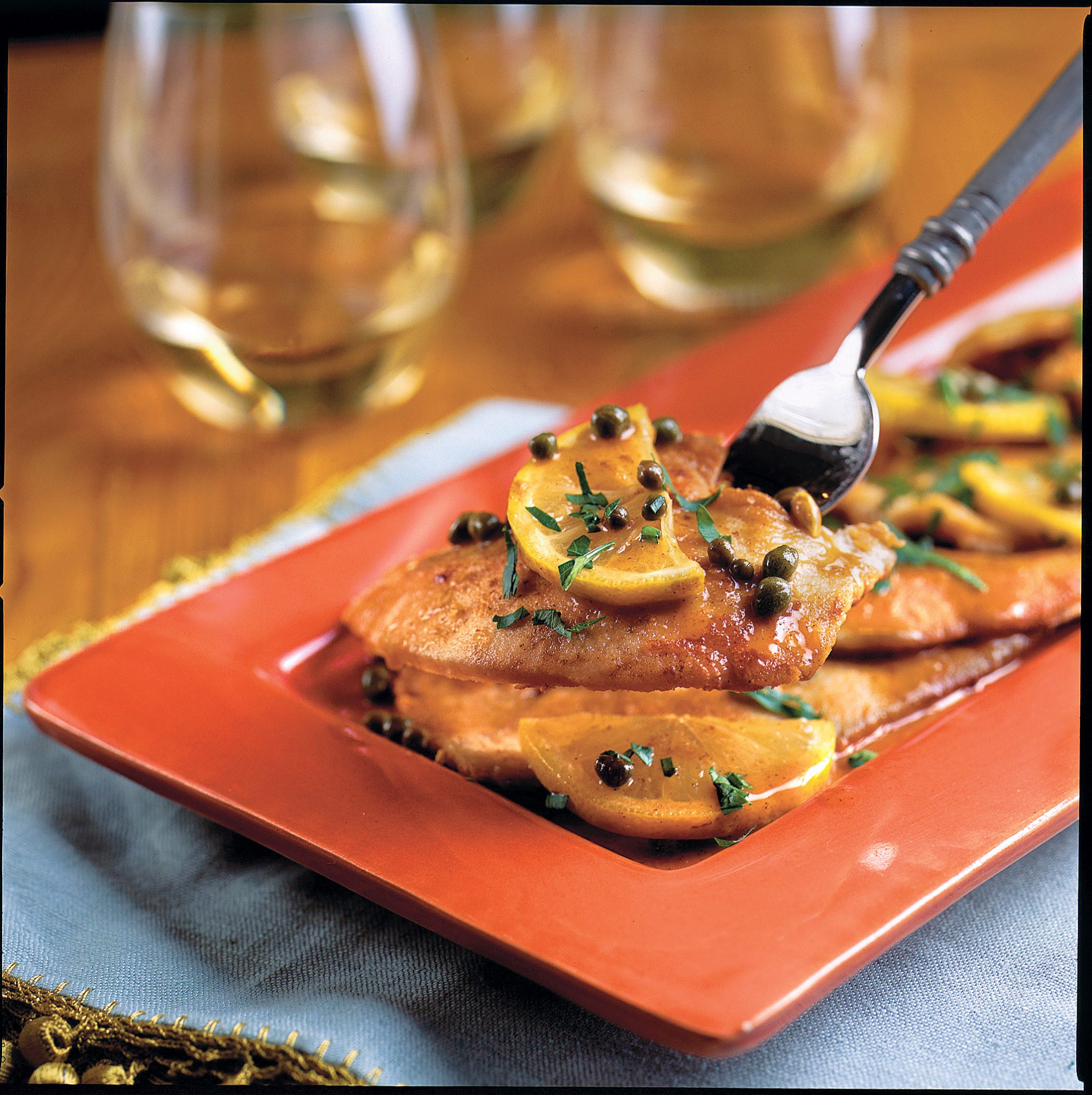 What's for Supper? Turkey Piccata