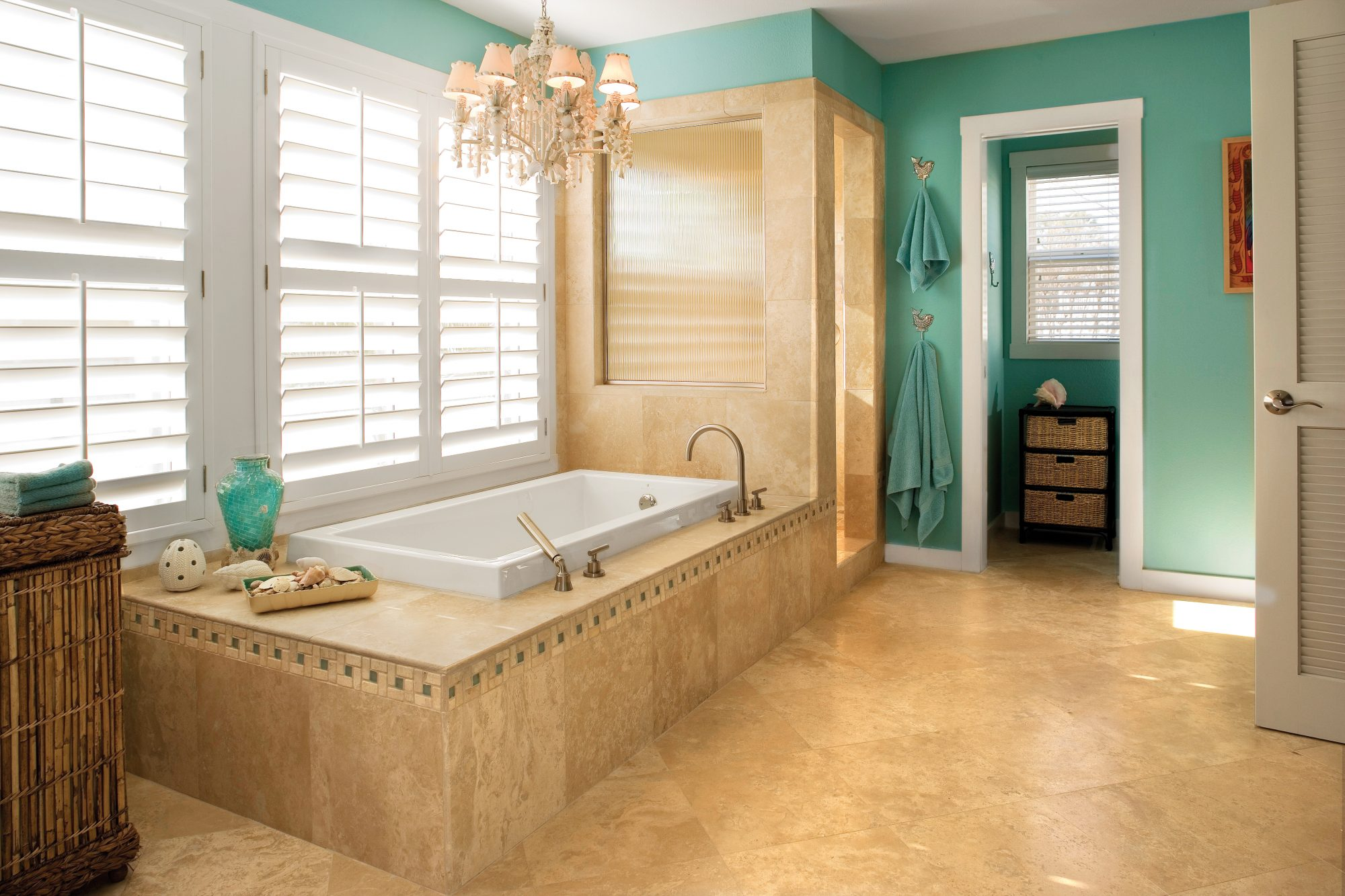 Pretty Bathroom Color Combo - Southern Living