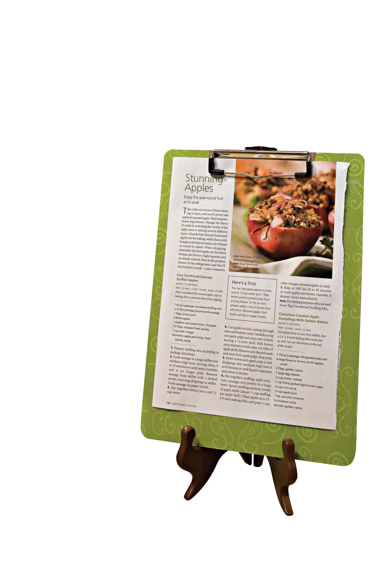Home Tips: Your Recipes: Organized