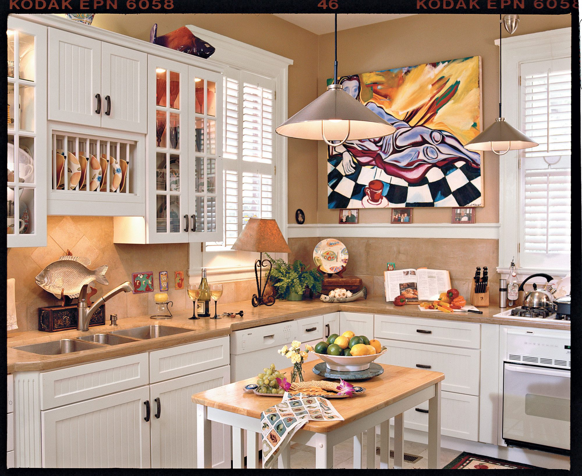 Fun-Filled Kitchen Renovation