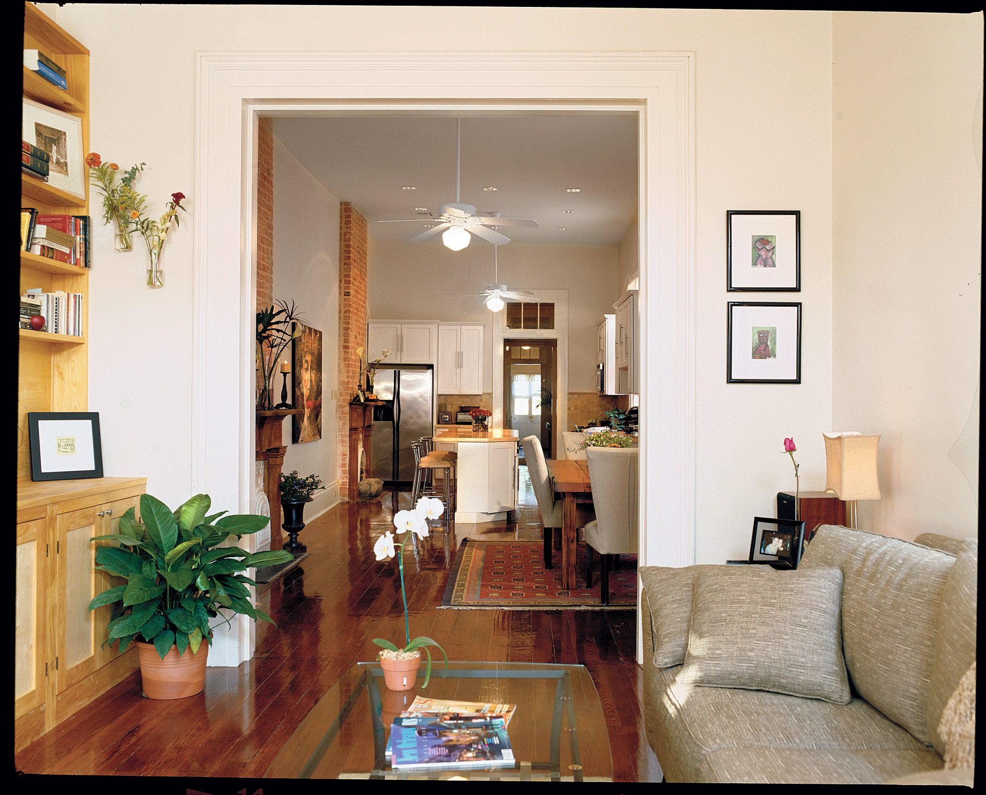 shotgun house interior. The Best Tricks for Small Spaces  Southern Living