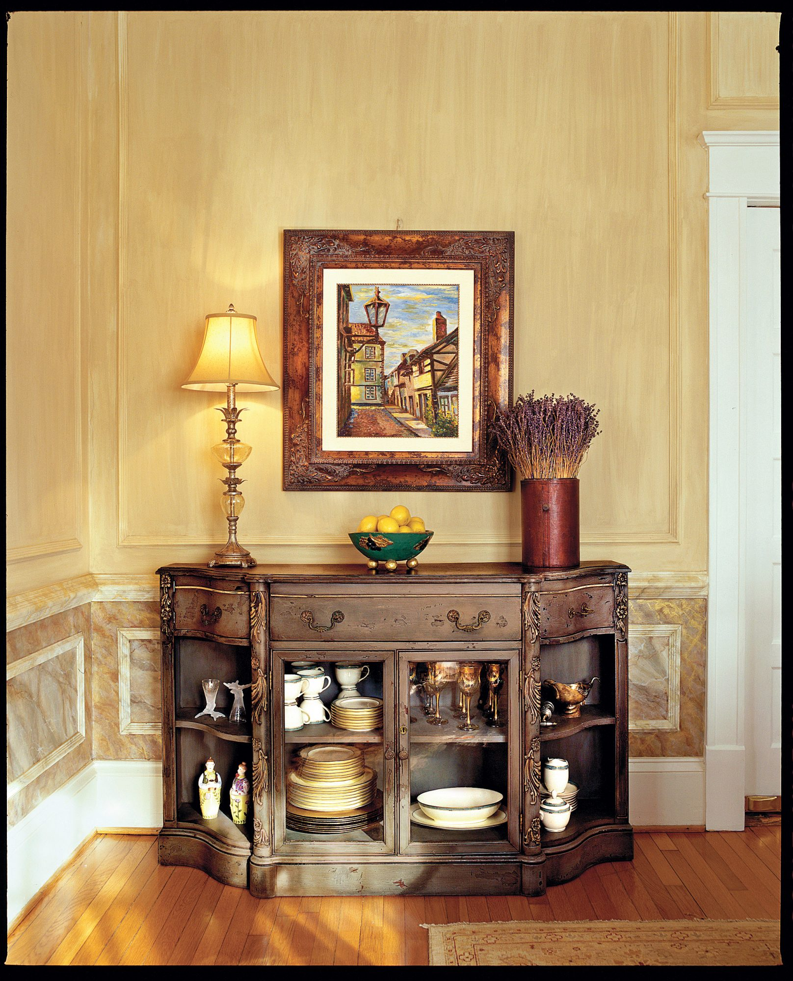 Fast Lessons in Faux Finishing a Room