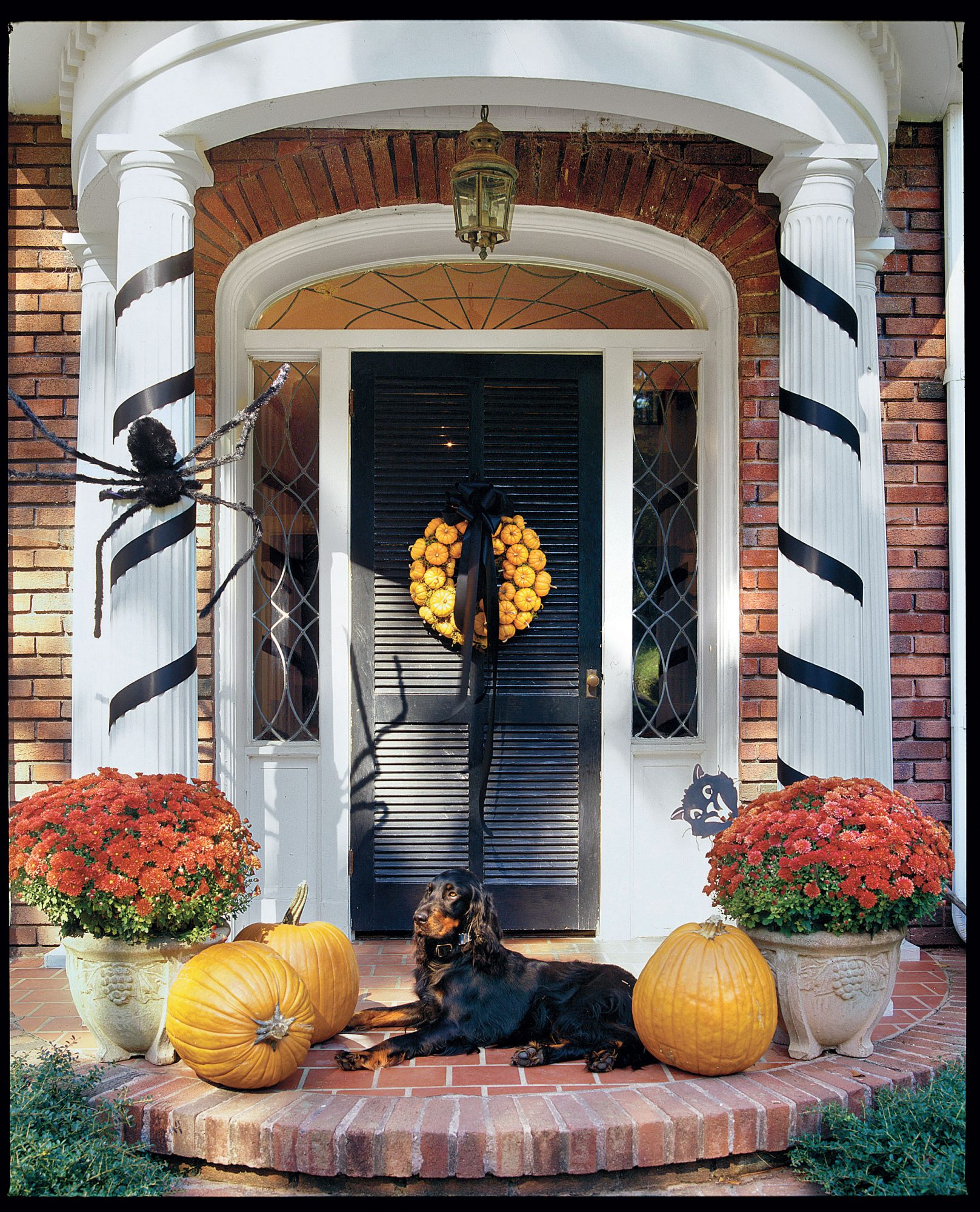 Decorating Step-by-Step: Wreath of Pumpkins