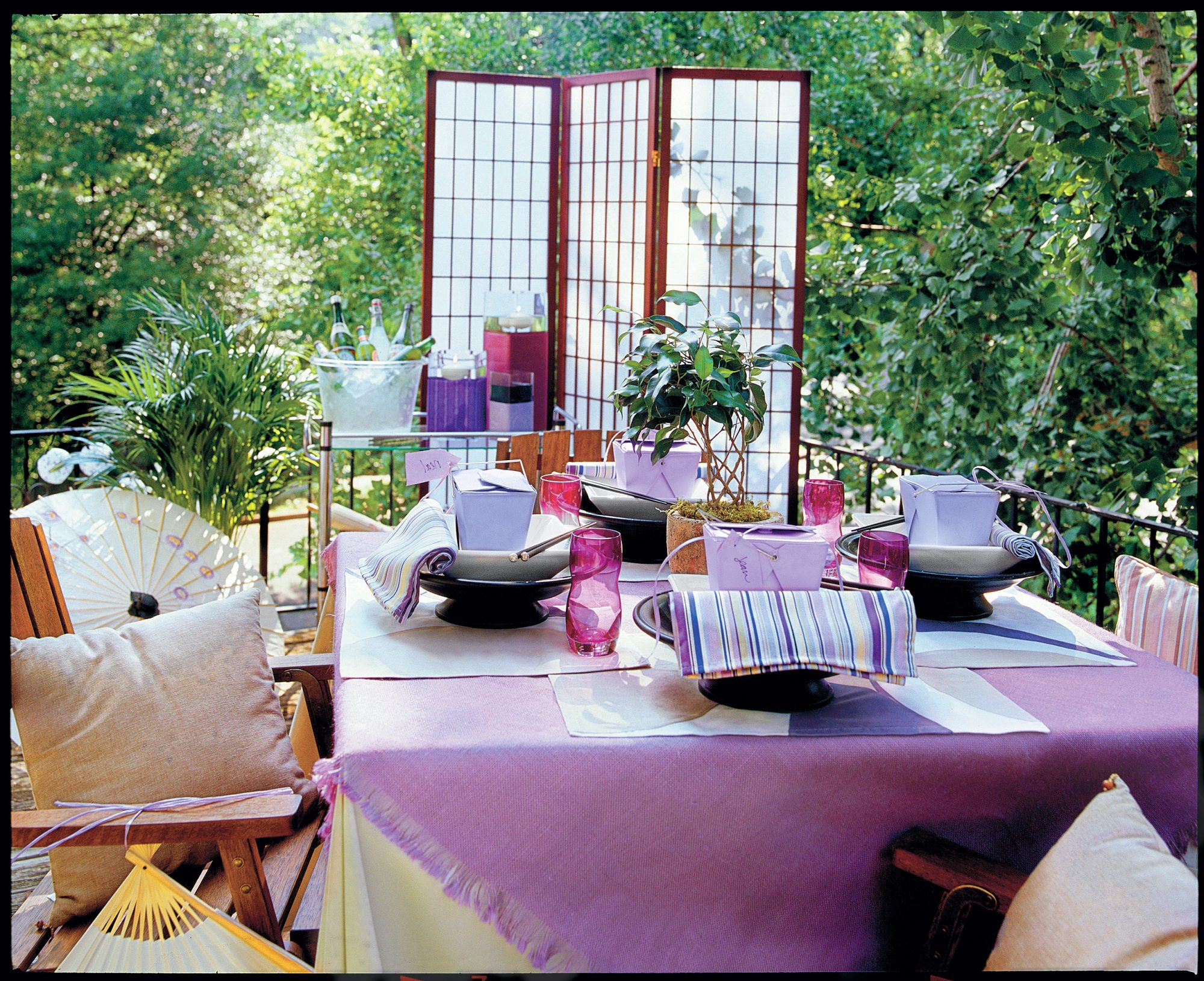 Punch Up Your Outdoor Party