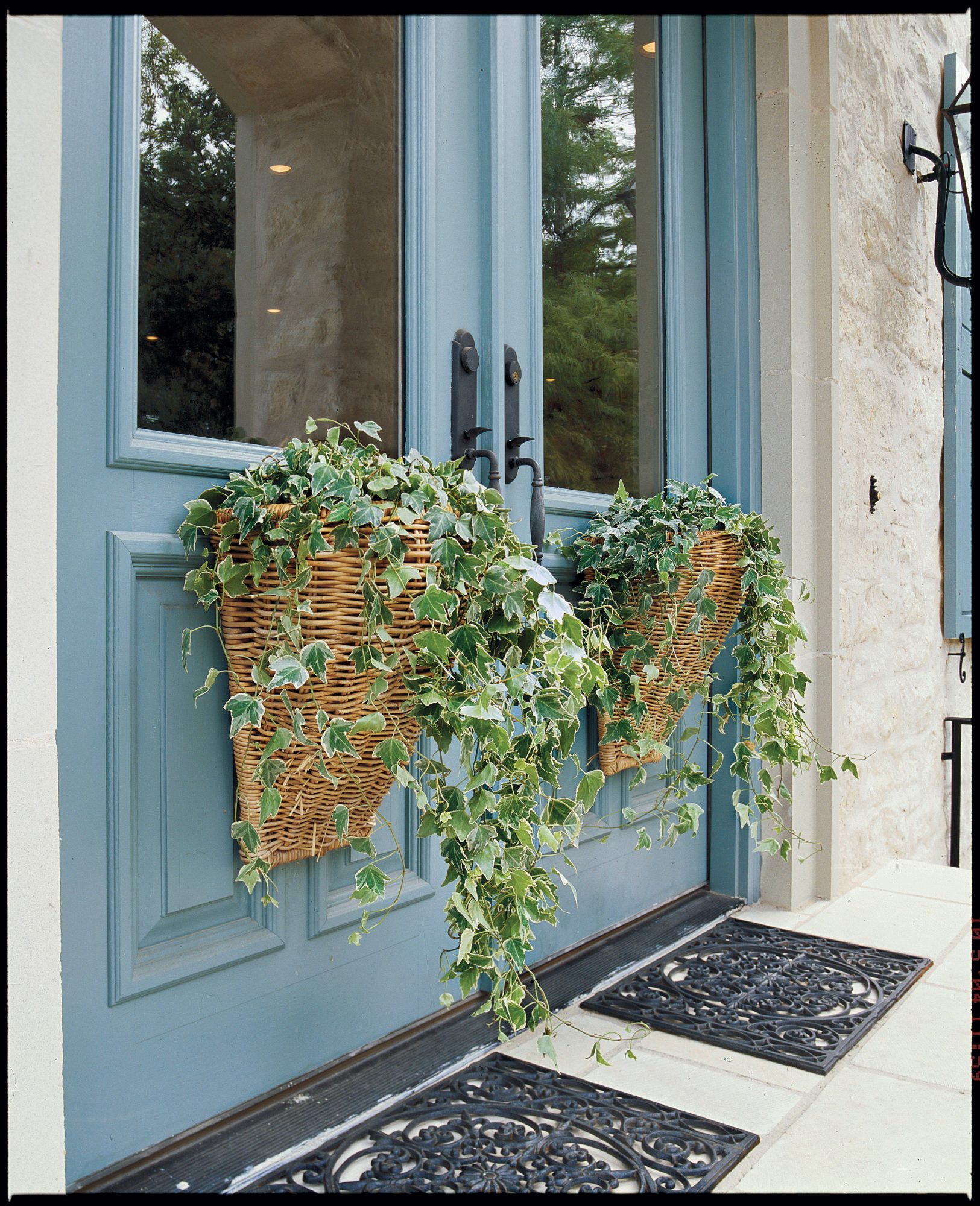 Spruce Up Your Door With Spring Baskets Southern Living