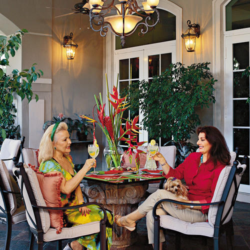 Patio With Pizzazz
